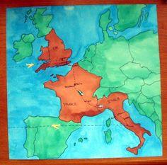 Europe Map - Scrapbook.com