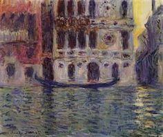 Palazzo Dario 3 - Claude Monet