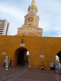 Torre del reloj Cartagena San Francisco Ferry, Bucket, Building, Travel, Bowrider, Paradise Beaches, Sand Beach, Guatape, Cartagena Colombia