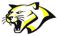 Cougar Mascot Logo Cougar Mascot Logo