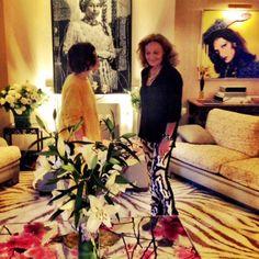nasiba adilovas spring 2014 paris fashion week diary diane and