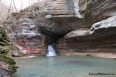 Natural Bridge - Lost Valley via ExploringNWArkansas.com