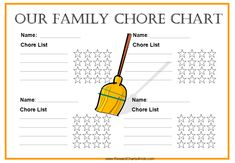 8 Best Images of Free Printable Kids Chore Charts Templates - Printable Kids Chore Chart Template, Free Printable Chore Charts and Printable Chore Chart Template Powerpoint Chart Templates, Chore Chart Template, Free Printable Chore Charts, Free Printables, Templates Free, Weekly Chore Charts, Family Chore Charts, Chore Chart Kids, Chore List