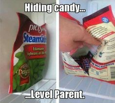 Hiding candy