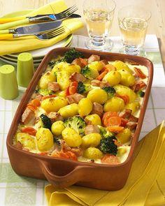 Unser beliebtes Rezept für Béchamel-Kartoffel-Auflauf und mehr als 55.000 weitere kostenlose Rezepte auf LECKER.de.