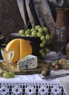 uvas y queso saben a beso