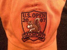 VINTAGE 2007 U.S.OPEN AT OAKMONT PENNSYLVANIA BUCKLEBACK EMBROIDERED ADULT CAP