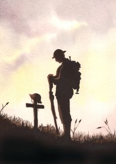 Fenland artists putting on First World War art exhibition at Octavia View in Wisbech Military Art, Military History, Anzac Soldiers, Benfica Wallpaper, World War One, First World, Soldier Drawing, Remembrance Day Art, Soldier Silhouette