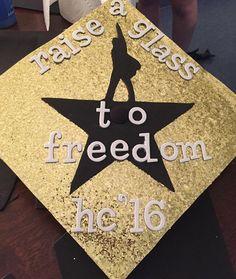 Hamilton Graduation Cap decoration