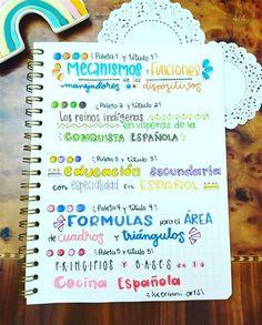 Karlas'notes 🤩 En 2020   Libreta De Apuntes, Titulos Bullet Journal Banner, Bullet Journal Notes, Bullet Journal School, Bullet Journal Ideas Pages, Bullet Journal Inspiration, Art Journal Pages, Journal Fonts, Bullet Journal Lettering Ideas, School Organization Notes
