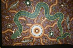 dreamtime serpent art - Google Search