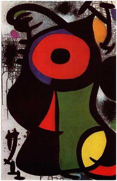 Fascinating Personage, 1968, Joan Miro
