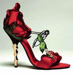 Beauty & the Beast Shoes :)