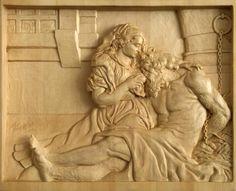 """С картины Рубенса """"Отцелюбие римлянки"""" image 1"""