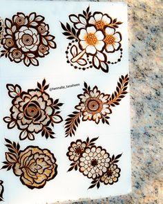 Henna Flower Designs, Pretty Henna Designs, Finger Henna Designs, Latest Bridal Mehndi Designs, Full Hand Mehndi Designs, Mehndi Designs Book, Mehndi Designs For Beginners, Mehndi Designs For Fingers, Simple Mehndi Designs