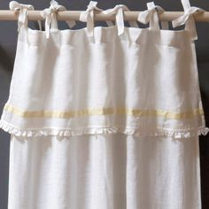 Pom Pom at Home Belle Voile Linen Curtain Panel @Layla Grayce $196 each