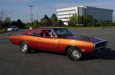 Burnt Orange Metallic 1970 Dodge Charger R/T  (Courtesy of http://www.lxforums.com/board/showthread.php/135529-Pics-Of-My-DAYTONA)