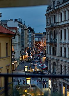 Balcony Bar #prague #bar #rooftop Prague Bars, Prague Nightlife, Balkon Design, Rooftop, Night Life, Balcony, Times Square, Places To Go, Street View
