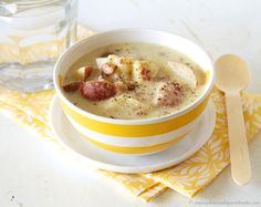 Slow Cooker Potato Soup by www,whatscookingwithruthie.com