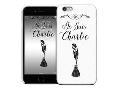 Je Suis Charlie Phone Case for iPhone 6 4  5  by Cliqueshops