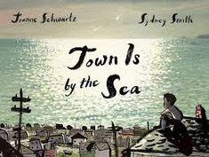 Joanne Schwartz, Sydney Smith: Stadt am Meer Meer Illustration, Promenade Sur La Plage, Cap Breton, Sous Le Vent, Sydney, Haunting Stories, Aladin, Illustrator, Le Cri