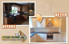 Kitchen Respray is the Dublin, Ireland's leading kitchen, furniture respraying, restoration and refurbishment company. Kitchen Respray, Kitchen Island, Kitchen Cabinets, Restoration, Furniture, Home Decor, Island Kitchen, Decoration Home, Room Decor