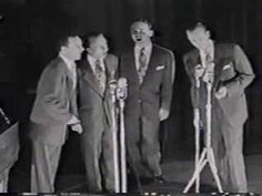 Blackwood Bro's--Rock A My Soul - ORIGINAL GROUP- The two men on the right, R.W. Blackwood & Bill Lyles were killed in a plane crash.