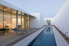 Minimalist House In Barrio Historico | iDesignArch | Interior Design, Architecture & Interior Decorating