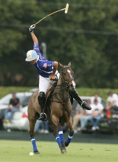 Adolfito Cambiaso playing for Valiente in the Joe Barry Memorial Cup