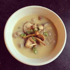 Knolselderijsoep met paddenstoelen :: FLEUR PASMAN