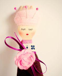 Lady Pincushion. Love her!