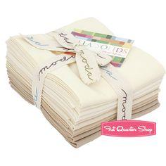 Oatmeal Bella Solids Fat Quarter Bundle SKU# 9900AB-21 - Fat Quarter Shop