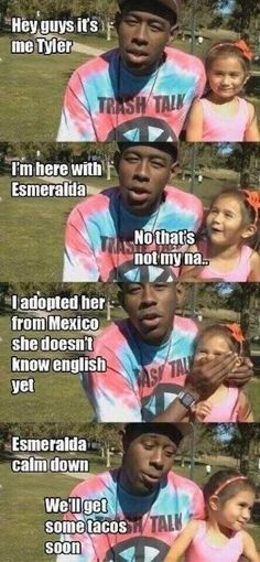 Odd future Tyler the creater Esmerelda