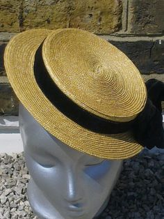Mimi Boater Hat