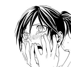 This adorable crying blushing face of Yato is to die for *-*
