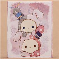 Sentimental Circus mini memo pad book star umbrella