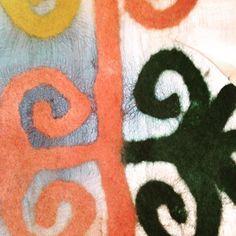 @folkartalliance #silk #textiles #letitiahillart