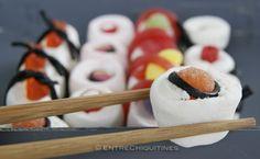 Sushi de chuches sweet sushi