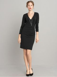 yup my style is black faux wrap dresses from BP... cant help it...