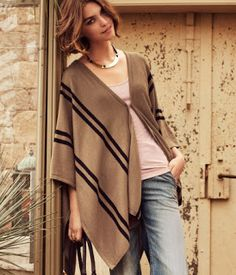 Notes on Nurturing: Friday I'm in Love: Ponchos and Capes