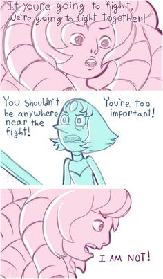 Pearl and Rose in Sworn to the sword - 1/3