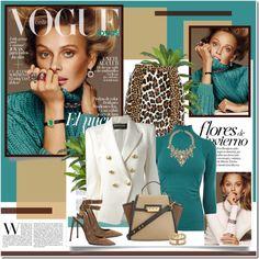 Inguna Butane - Vogue Spain Outfit Idea 2017