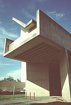 Fine Arts Center, University of Massachusetts, Amherst, Massachusetts (Kevin Roche, 1975) - Google Search