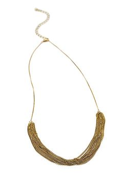 Layered Chain Necklace | FOREVER21 - 1000053654