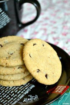 Chocolate & Coffee Whole Wheat Cookies