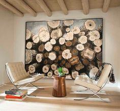 Bézs, fehér, szürke árnyalatok, sok fa - gyönyörű otthon, friss, kifinomult lakberendezés