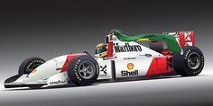Digital Art - Ayrton Senna Da Silva Art by Alain Jamar , Mclaren Formula 1, Formula 1 Car, San Marino Grand Prix, Australian Grand Prix, Funny Pictures For Kids, Indy Cars, Car And Driver, Vintage Racing, Sport