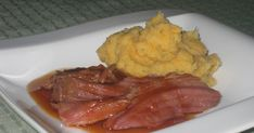 Blogue culinaire Mashed Potatoes, Ethnic Recipes, Sweet Sauce, Ham, Pork, Crockpot, Food, Remainders, Kitchens