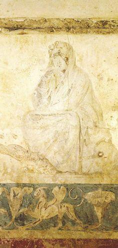 Βεργίνα (Αιγές), Ο τάφος της Περσεφόνης (Ταφος Ι)  - Vergina (Aigai), The Tomb of Persephone (Τomb Ι)