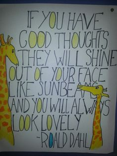 Sunbeams poster Pinterest Projects, Roald Dahl, Good Thoughts, Poster, Posters, Billboard